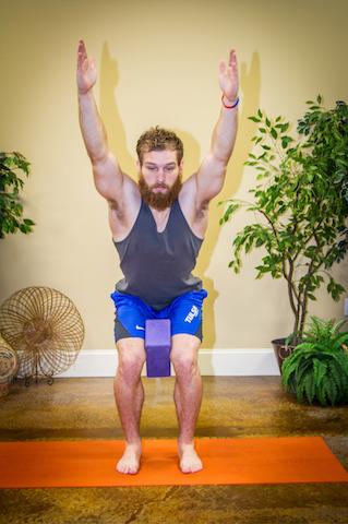 chair pose yoga poses